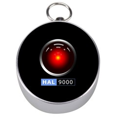 Hal 9000 Silver Compasses by linceazul