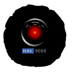 Hal 9000 Large 18  Premium Flano Round Cushions