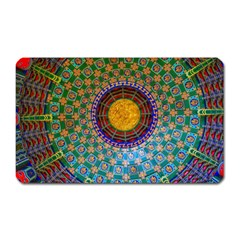 Temple Abstract Ceiling Chinese Magnet (rectangular) by Nexatart