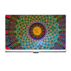 Temple Abstract Ceiling Chinese Business Card Holders by Nexatart