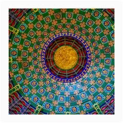 Temple Abstract Ceiling Chinese Medium Glasses Cloth