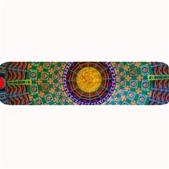 Temple Abstract Ceiling Chinese Large Bar Mats by Nexatart