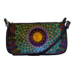 Temple Abstract Ceiling Chinese Shoulder Clutch Bags by Nexatart