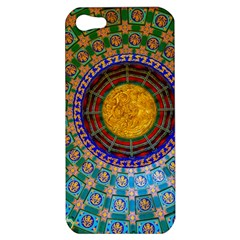 Temple Abstract Ceiling Chinese Apple Iphone 5 Hardshell Case