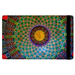 Temple Abstract Ceiling Chinese Apple Ipad 3/4 Flip Case