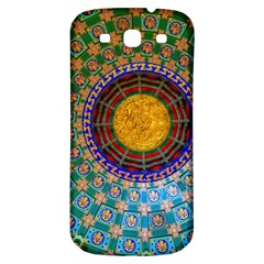 Temple Abstract Ceiling Chinese Samsung Galaxy S3 S Iii Classic Hardshell Back Case by Nexatart