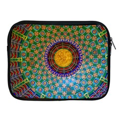 Temple Abstract Ceiling Chinese Apple Ipad 2/3/4 Zipper Cases by Nexatart