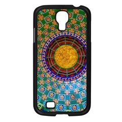 Temple Abstract Ceiling Chinese Samsung Galaxy S4 I9500/ I9505 Case (black) by Nexatart
