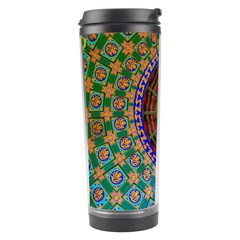 Temple Abstract Ceiling Chinese Travel Tumbler