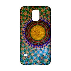 Temple Abstract Ceiling Chinese Samsung Galaxy S5 Hardshell Case  by Nexatart