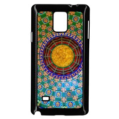 Temple Abstract Ceiling Chinese Samsung Galaxy Note 4 Case (black)