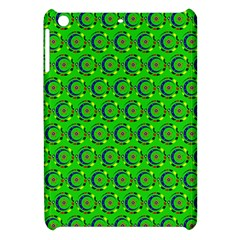 Abstract Art Circles Swirls Stars Apple Ipad Mini Hardshell Case by Nexatart