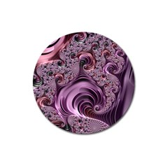 Abstract Art Fractal Art Fractal Magnet 3  (round) by Nexatart