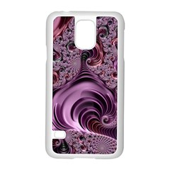 Abstract Art Fractal Art Fractal Samsung Galaxy S5 Case (white)