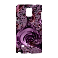 Abstract Art Fractal Art Fractal Samsung Galaxy Note 4 Hardshell Case by Nexatart