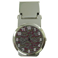 Full Frame Shot Of Abstract Pattern Money Clip Watches