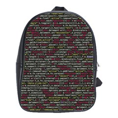 Full Frame Shot Of Abstract Pattern School Bags(large)  by Nexatart