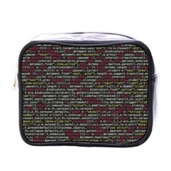 Full Frame Shot Of Abstract Pattern Mini Toiletries Bags by Nexatart