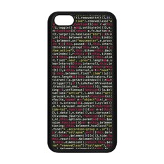 Full Frame Shot Of Abstract Pattern Apple Iphone 5c Seamless Case (black) by Nexatart