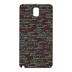 Full Frame Shot Of Abstract Pattern Samsung Galaxy Note 3 N9005 Hardshell Back Case by Nexatart
