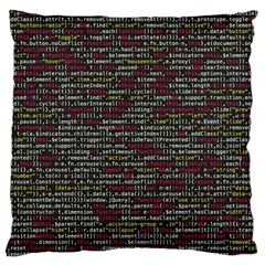 Full Frame Shot Of Abstract Pattern Standard Flano Cushion Case (one Side) by Nexatart