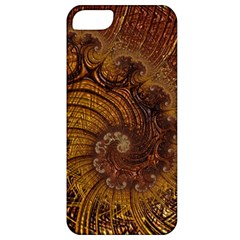 Copper Caramel Swirls Abstract Art Apple Iphone 5 Classic Hardshell Case