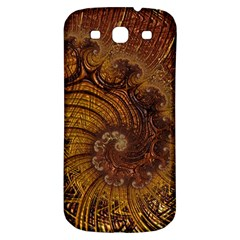 Copper Caramel Swirls Abstract Art Samsung Galaxy S3 S Iii Classic Hardshell Back Case