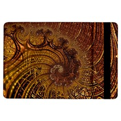 Copper Caramel Swirls Abstract Art Ipad Air Flip