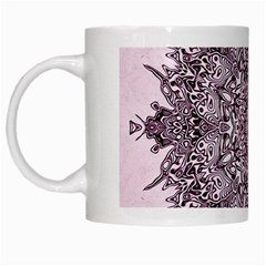 Sacred Art Shaman Shamanism White Mugs by Nexatart