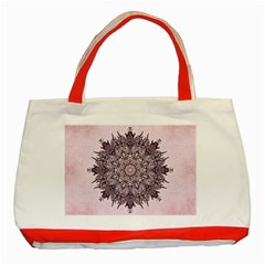 Sacred Art Shaman Shamanism Classic Tote Bag (red)