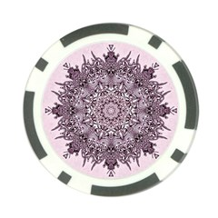 Sacred Art Shaman Shamanism Poker Chip Card Guard