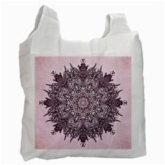 Sacred Art Shaman Shamanism Recycle Bag (one Side) by Nexatart