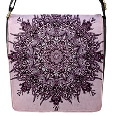 Sacred Art Shaman Shamanism Flap Messenger Bag (s) by Nexatart