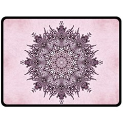 Sacred Art Shaman Shamanism Double Sided Fleece Blanket (large)  by Nexatart