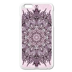 Sacred Art Shaman Shamanism Apple Iphone 6 Plus/6s Plus Enamel White Case
