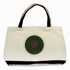 Pattern District Background Basic Tote Bag by Nexatart