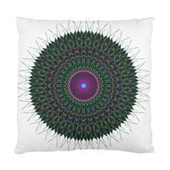 Pattern District Background Standard Cushion Case (two Sides) by Nexatart