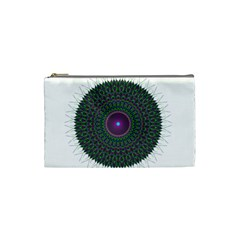 Pattern District Background Cosmetic Bag (small)  by Nexatart