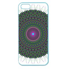 Pattern District Background Apple Seamless Iphone 5 Case (color)