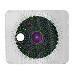 Pattern District Background Galaxy S3 (flip/folio) by Nexatart