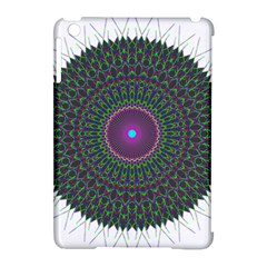 Pattern District Background Apple Ipad Mini Hardshell Case (compatible With Smart Cover) by Nexatart
