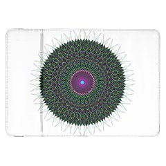Pattern District Background Samsung Galaxy Tab 8 9  P7300 Flip Case