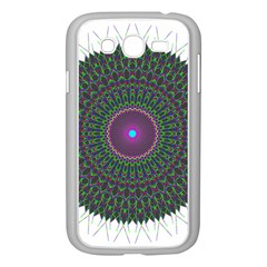 Pattern District Background Samsung Galaxy Grand Duos I9082 Case (white) by Nexatart