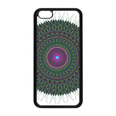 Pattern District Background Apple Iphone 5c Seamless Case (black)