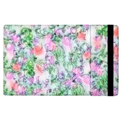Softly Floral A Apple Ipad 3/4 Flip Case by MoreColorsinLife