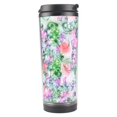 Softly Floral A Travel Tumbler by MoreColorsinLife
