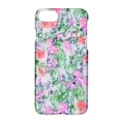 Softly Floral A Apple Iphone 7 Hardshell Case by MoreColorsinLife