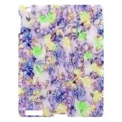 Softly Floral B Apple Ipad 3/4 Hardshell Case by MoreColorsinLife
