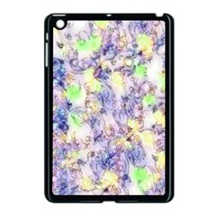 Softly Floral B Apple Ipad Mini Case (black) by MoreColorsinLife