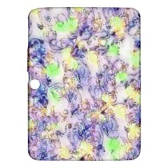 Softly Floral B Samsung Galaxy Tab 3 (10 1 ) P5200 Hardshell Case  by MoreColorsinLife